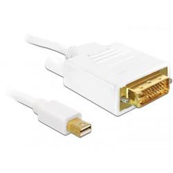 Delock kábel Displayport mini (M) - DVI 24pin (M) 2 m 82918