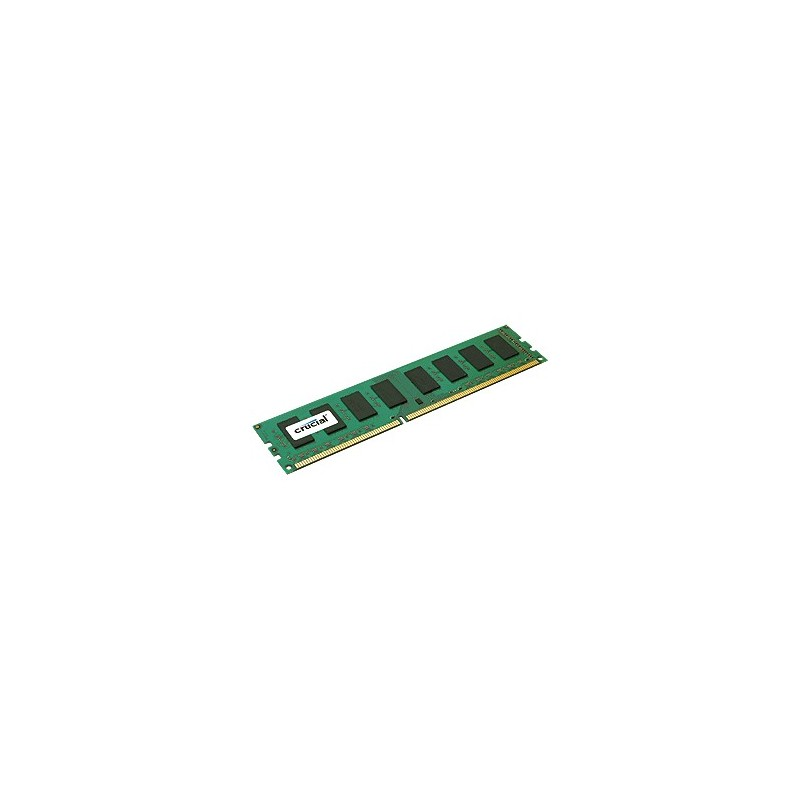 4GB DDR3L 1600 MT/s (PC3L-12800) CL11 Crucial Unbuffered UDIMM 240pin 1,35V/1,5V Single Ranked CT51264BD160BJ