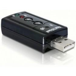 Delock externá zvuková karta 7.1 (virtuálna) USB 2.0 61645