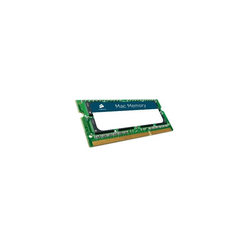 SO DIMM CORSAIR DDR3 2x4GB 1066MHz DDR3 MAC/APP CMSA8GX3M2A1066C7