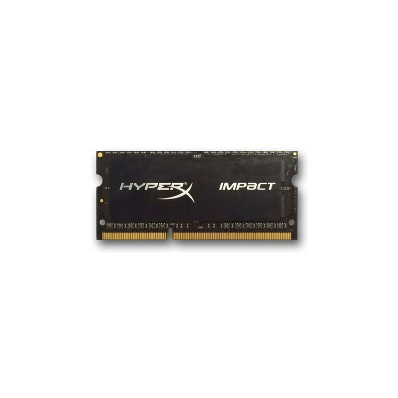 DDR 3 8 GB 1600MHz SODIMM CL9 Kingston HyperX Impact Black Series 1,35V HX316LS9IB/8