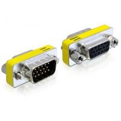 Delock adaptér VGA samec / samica 65250