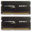 DDR 3 8 GB 1600MHz SODIMM CL9 Kingston HyperX Impact Black Series 1,35V (2x4GB) HX316LS9IBK2/8