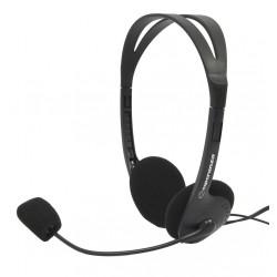 Esperanza EH102 SCHERZO Stereo slúchadlá s mikrofónom, ovl. hlasitosti, 2.5m EH102 - 5905784767857