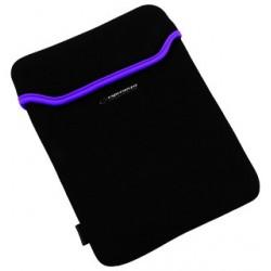 Esperanza ET172V Puzdro pre tablet 9.7' (4:3), 3mm neoprén, čierno-fialové ET172V - 5901299903179