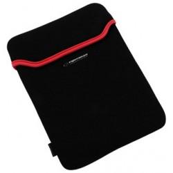 Esperanza ET172R Puzdro pre tablet 9.7' (4:3), 3mm neoprén, čierno-červené ET172R - 5901299903162