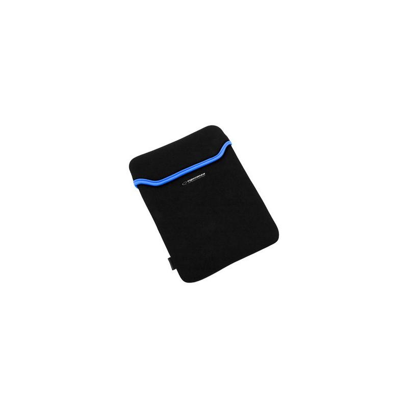 Esperanza ET173B Puzdro pre tablet 10.1' (16:9), 3mm neoprén, čierno-modré ET173B - 5901299903186