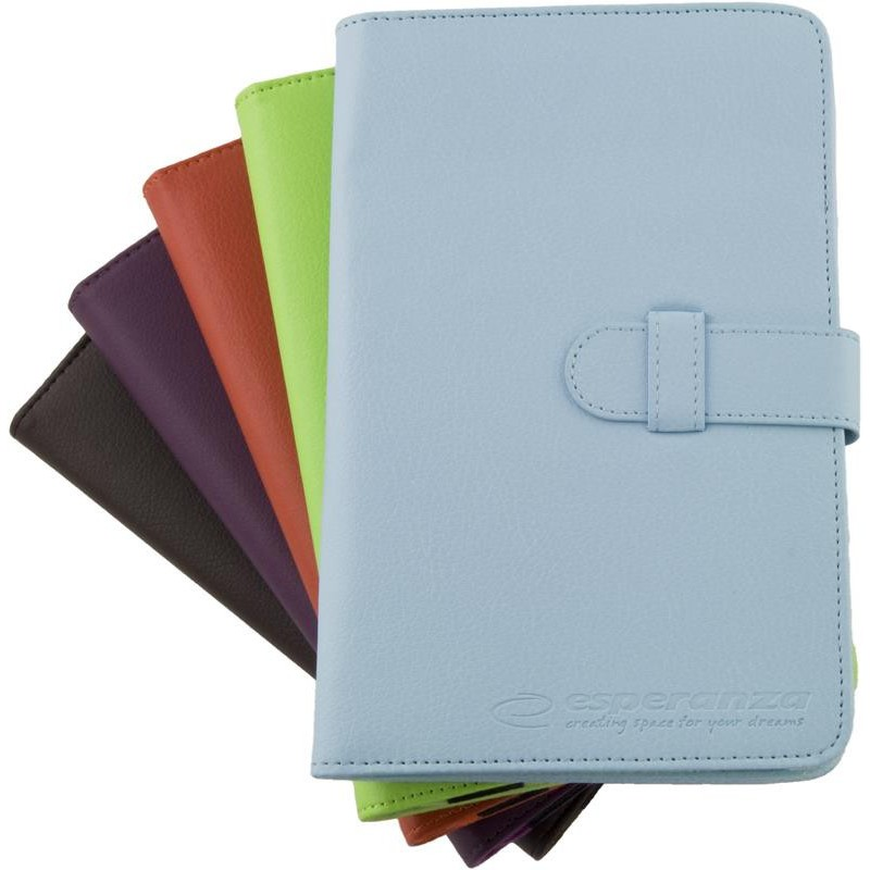 Esperanza ET183M Puzdro pre tablet 10.1' (16:9), eko koža, mix farieb ET183M - 5901299904015