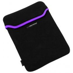 Esperanza ET173V Puzdro pre tablet 10.1' (16:9), 3mm neoprén, čierno-fialové ET173V - 5901299903223