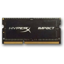 DDR 3 4 GB 1600MHz SODIMM CL9 Kingston HyperX Impact Black Series 1,35V HX316LS9IB/4