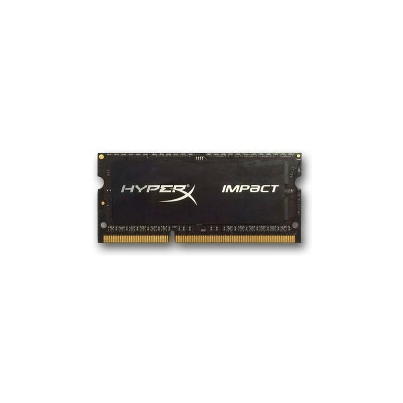 DDR 3 4 GB 1600MHz SODIMM CL9 Kingston HyperX Impact Black Series 1,35V HX316LS9IB/4