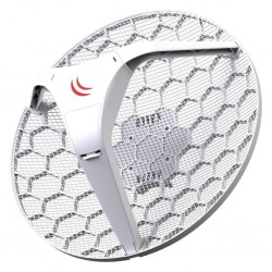 MikroTik LHG 5 Light Head 24.5 dBi Grid antenna with 5GHz 802.11 a/n wireless MT RBLHG-5nD
