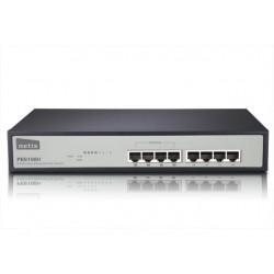 Netis Switch POE 19' 8-port 100 MB (4 ports POE, 15,4W/Port, max 62W) PE6108H