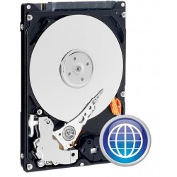 "Western Digital Blue 2,5"" HDD 500GB 5400RPM 16MB SATA 6Gb/s WD5000LPCX"