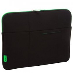 Pouzdro SAMSONITE U3719005 13,3' AIRGLOW počítač, polyamid, černá, zelená U37-19-005