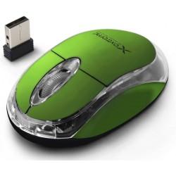 Extreme XM105G HARRIER Bezdrôtová optická myš, 2.4GHz, 1000 DPI, zelená XM105G - 5901299926161