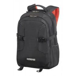 Backpack American Tourister 24G09002 UG4 14,1' comp, docu, pockets, black 24G-09-002