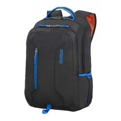 Backpack American Tourister 24G19004 UG4 15.6' comp, docu, pockets, blk/blue 24G-19-004