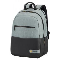 Backpack American Tourister 28G09002 CD 15,6' comp, doc, tblt, pockets, blck/gr 28G-09-002