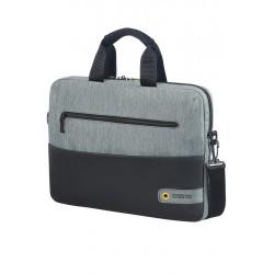 Bag American Tourister 28G09003 CD 14,1' comp, doc, tblt, pock, blk/grey 28G-09-003