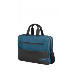 Bag American Tourister 28G19004 CD 15,6' comp, doc, tblt, pock, blk/blue 28G-19-004