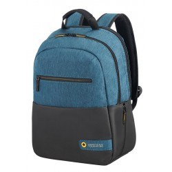 Backpack American Tourister 28G19001 CD 13,3-14,1' comp, doc, tblt, pock, blk/b 28G-19-001