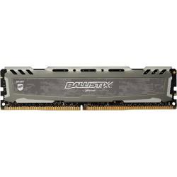 Crucial Ballistix Sport LT, 16GB, DDR4 2666MHz, UDIMM, Gray BLS16G4D26BFSB