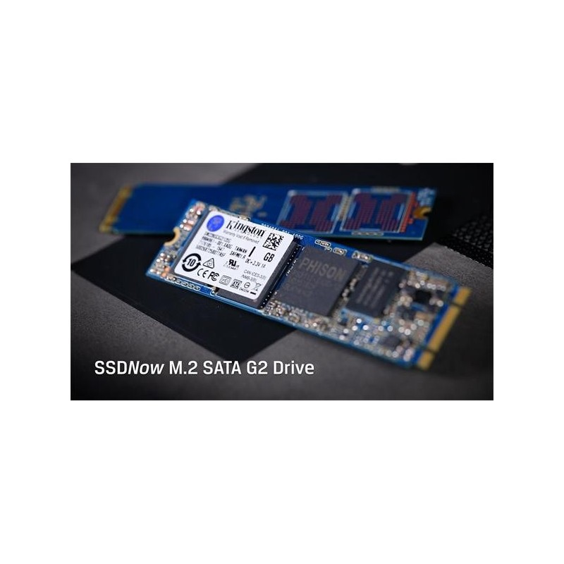 Kingston 240GB SSDNow M2 SATA Series SATA (6Gbps) ( r550MB/s, w330MB/s ), single-side SM2280S3G2/240G