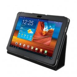 4World Puzdro - stojan pre Galaxy Tab 10.1, dve nastavenia, čierny 08204