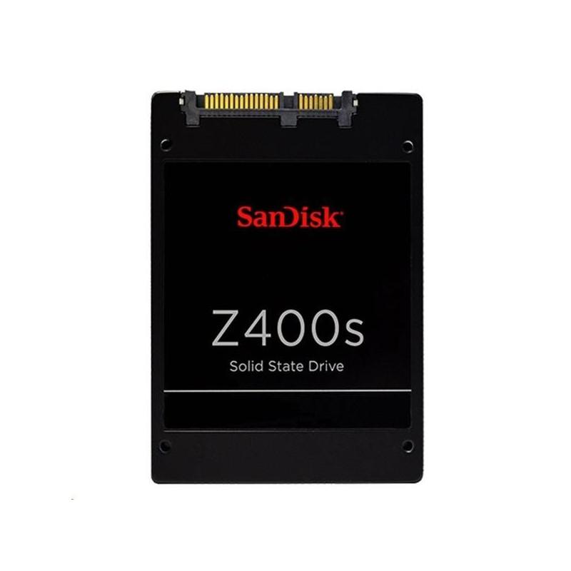 """SanDisk Z400s 256GB SSD, 2,5"""" 7mm, SATA 6 Gbit/s, Read/Write: 546 MB/s / 342 MB/s SD8SBAT-256G-1122"""