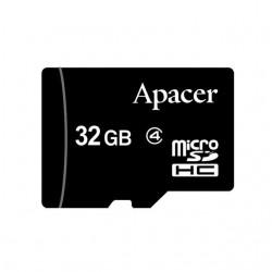 Apacer pamäťová karta Micro SDHC 32GB Class 4 AP32GMCSH4-RA