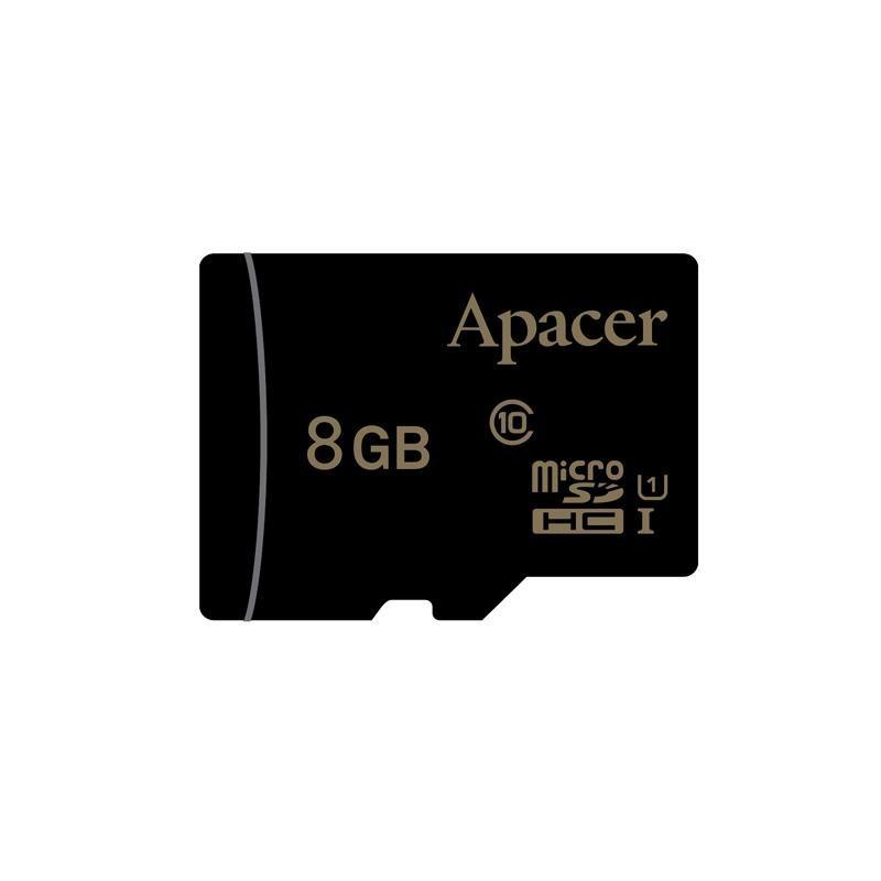 Apacer pamäťová karta Micro SDHC 8GB Class 10 UHS-I AP8GMCSH10U1-R