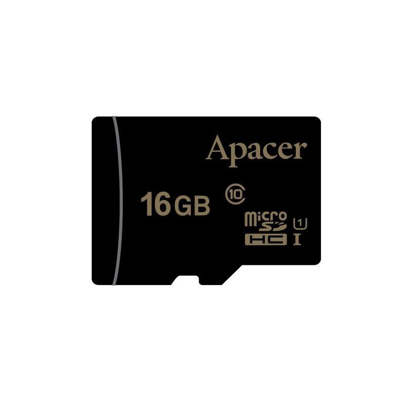 Apacer pamäťová karta Micro SDHC 16GB Class 10 UHS-I AP16GMCSH10U1-R