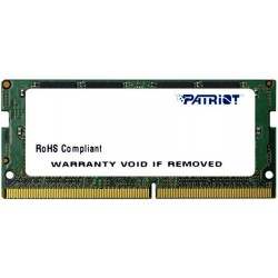 Patriot Signature DDR4 4GB 2133MHz CL15 SODIMM PSD44G213382S