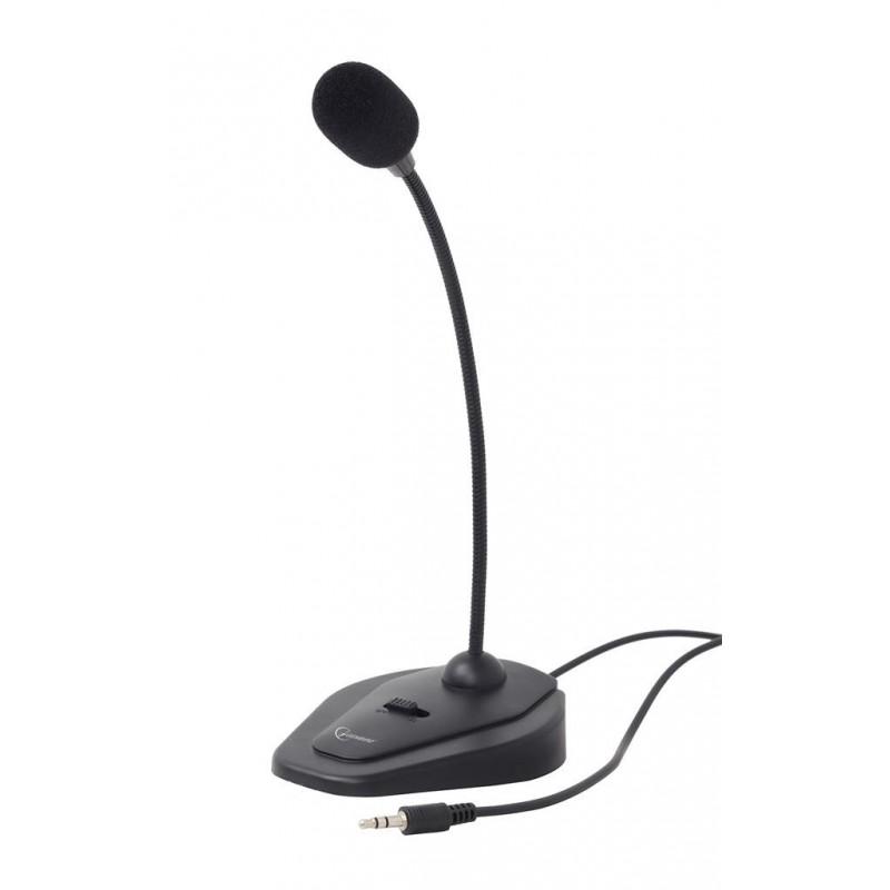 Gembird stolný mikrofón MIC-D-01, čierný