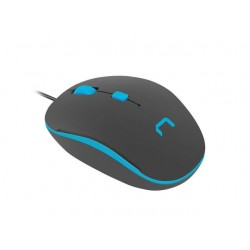 Optic mouse Natec SPARROW USB, 1200 DPI, Black/Blue NMY-1187