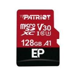 Patriot EP Series 128GB MICRO SDXC V30, up to 100MB/s PEF128GEP31MCX