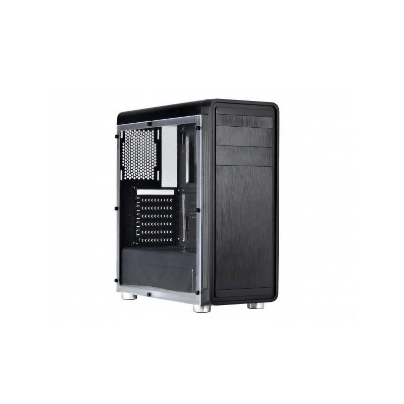 Spire ATX pc gamer case - HUSKY 7008 SPTE7008B/W-U3