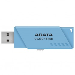 Flashdrive Adata UV230 64GB, Blue AUV230-64G-RBL