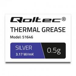 Qoltec teplovodivá pasta 3.17 W/m-K | 0,5g | silver 51646