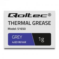 Qoltec teplovodivá pasta 4.63W/m-K | 1g | grey 51650