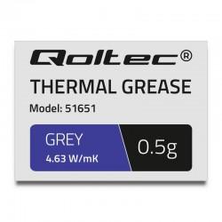 Qoltec teplovodivá pasta 4.63W/m-K | 0,5g | grey 51651