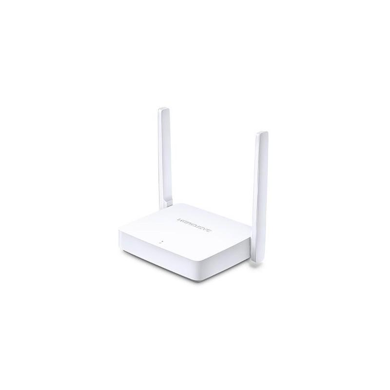 Mercusys MW301R Wireless 802.11n/300Mbps, 2xLAN, 1xWAN, 5dBi antena