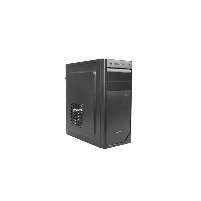 Natec Office PC case BOLITA , USB 3.0, black NPC-1291