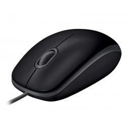 Logitech® B110 Silent BLACK - EMEA - USB 910-005508