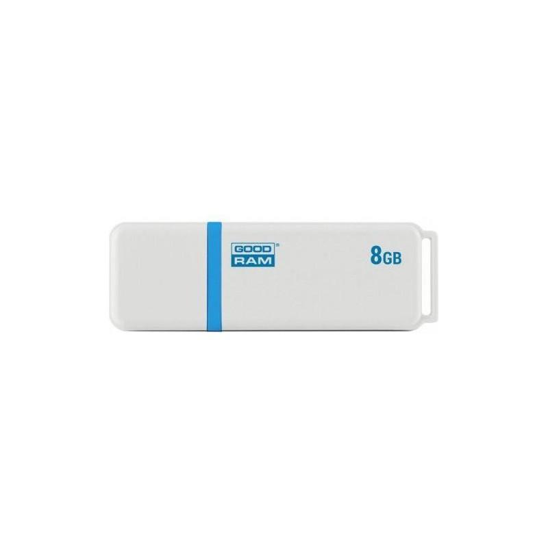 GOODRAM memory USB UMO2 8GB USB 2.0 Biela UMO2-0080W0R11