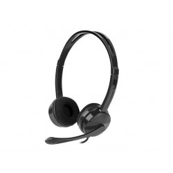 Natec HEADSET CANARY WITH MICROPHONE BLACK NSL-1295