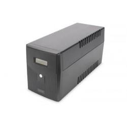 DIGITUS UPS Line-Ineractive LCD 2000VA/1200W 2x12V/9Ah AVR 4xSCH....