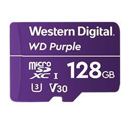 WD Purple Micro SDXC 128GB Class 10 WDD128G1P0A
