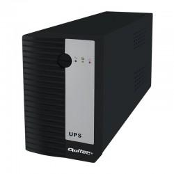 Qoltec Neprerušiteľný zdroj napájania UPS 600VA | 360W 53901